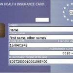 Cartão Europeu de Saúde – Cartão Europeu de Seguro de Doença (CESD)