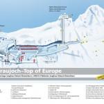 Palácio do Gelo, Jungfraujoch - De carro e comboio Suíça – Viagem Europa