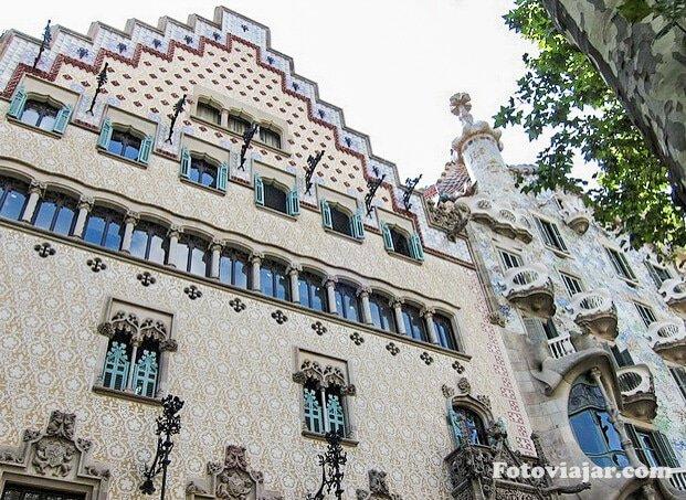 guia barcelona casa amatller