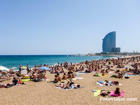 Praia de Barcelona, Marina de Barcelona