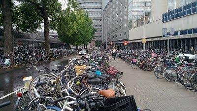 interrail amesterdao bicicletas