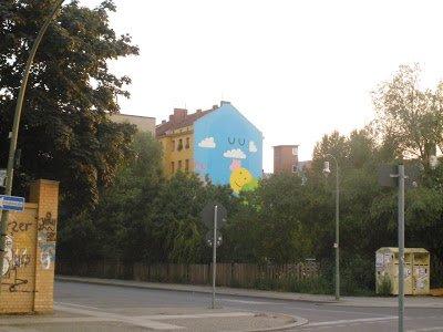 interrail berlim pintura