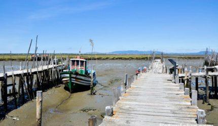 porto pesca palafita carrasqueiro
