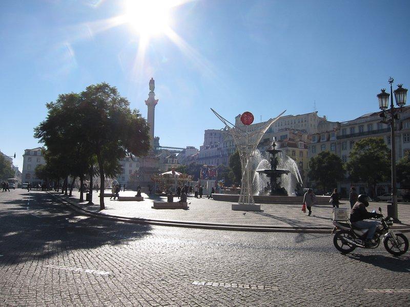 Visitar Lisboa Rossio
