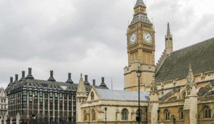 visita estudo londres parlamento