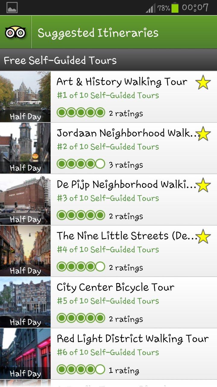 Guias de viagem digitais iphone android