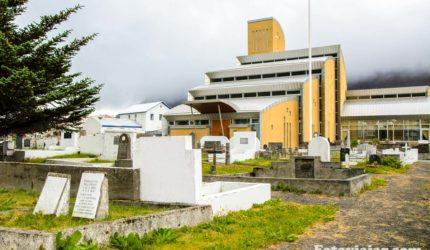 igreja isafjordur islandia