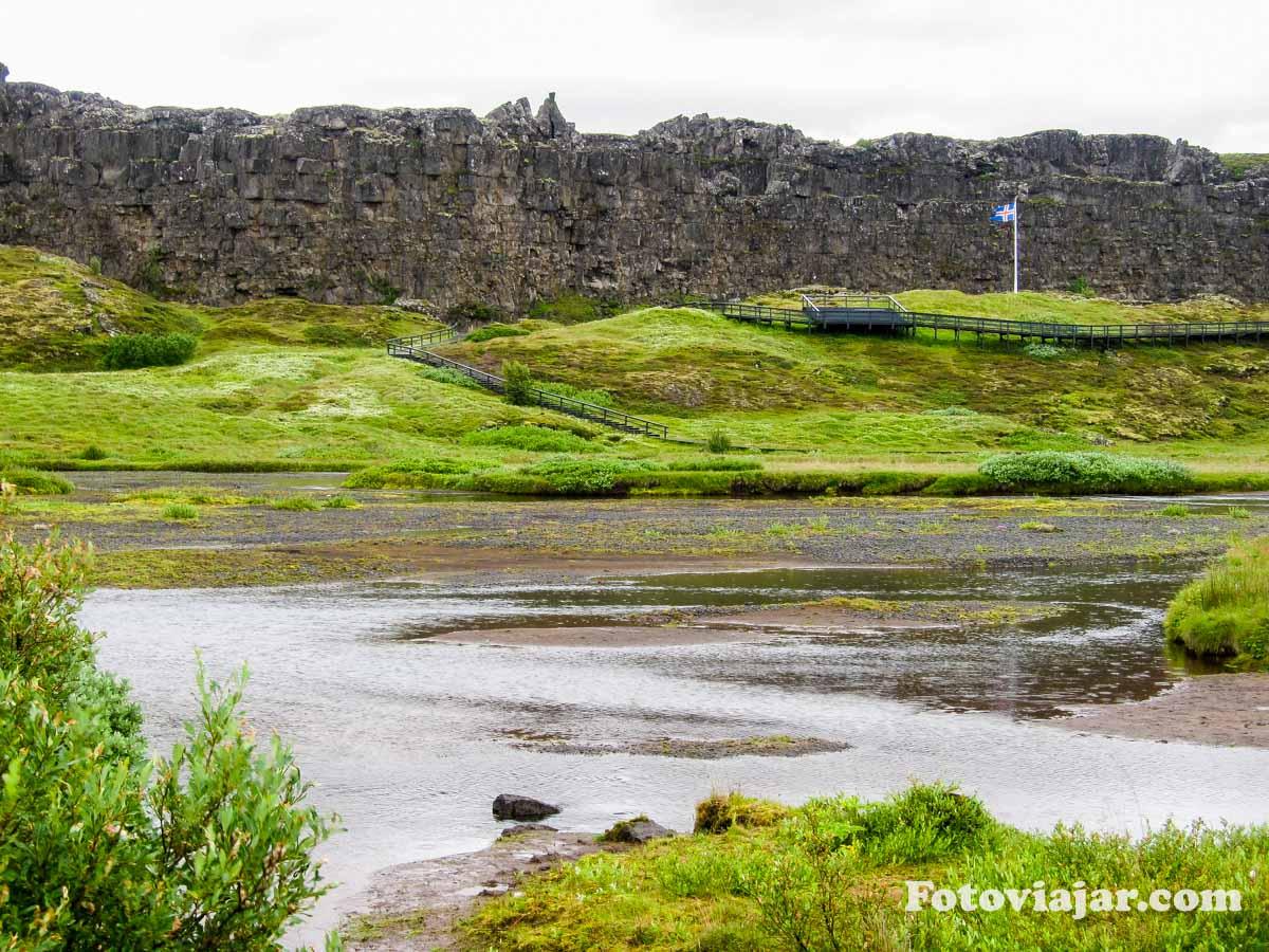 Parque Thingvellir Islandia
