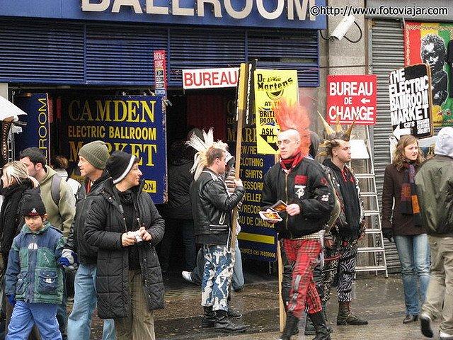 Camden Town visitar Londres roteiro guia