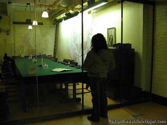 Churchill War Rooms visitar Londres uma semana