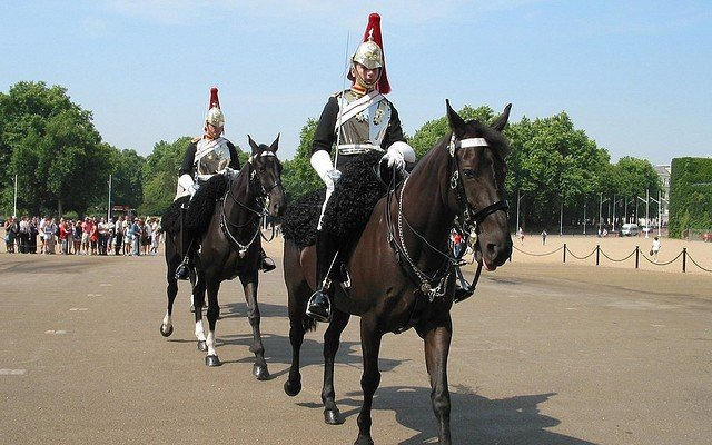 Horse Guards Parade  visitar Londres roteiro guia