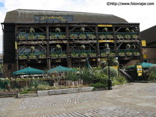 St Catherine's Docks visitar Londres roteiro guia