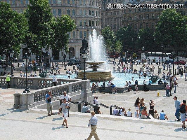 Trafalgar Square visitar Londres roteiro guia