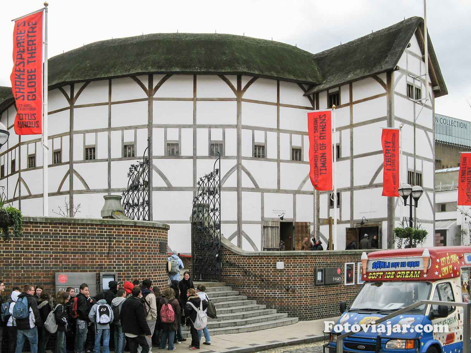 londres 2 dias shakespeare