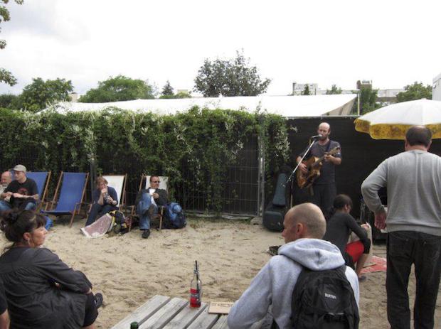 O que visitar em Berlim - Artista em Mauerpark