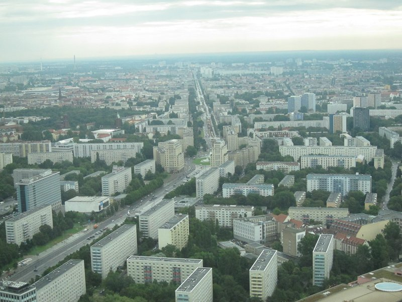 Vista panorâmica Berlim
