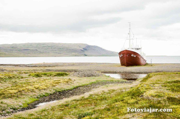 barco islandia