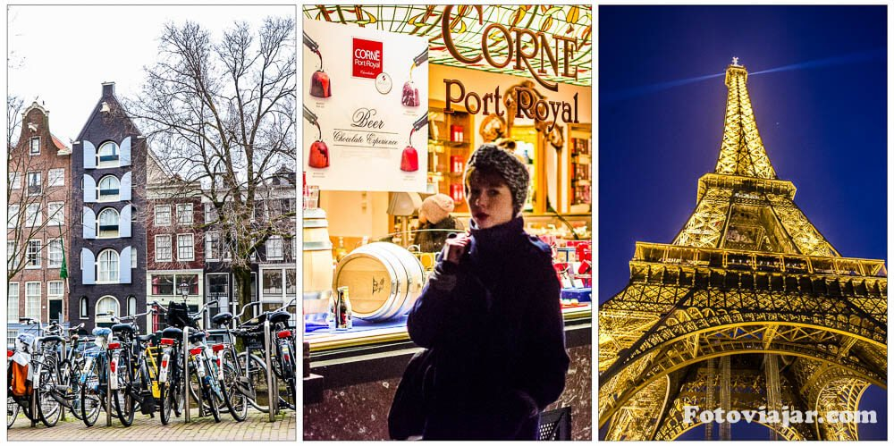 Amesterdao Bruxelas Paris