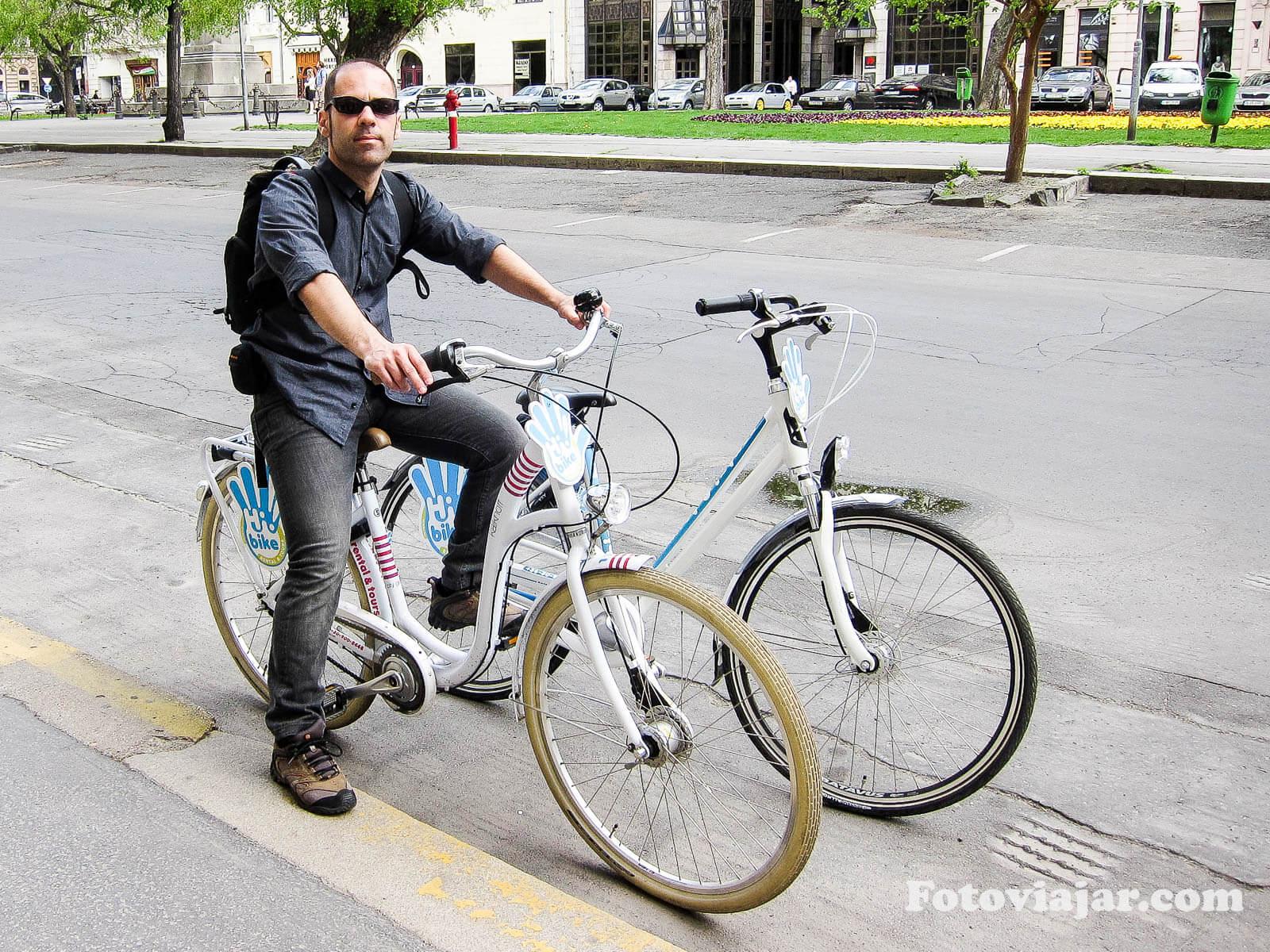 budapeste alugar bicicleta