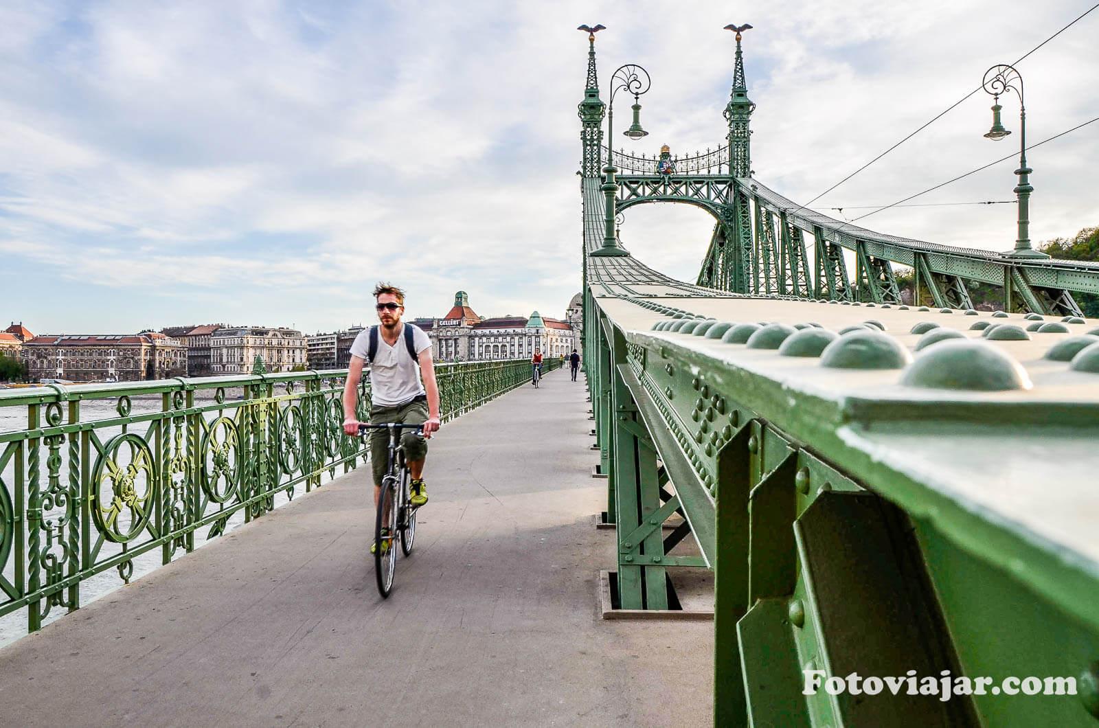 visitar budapeste ponte liberdade