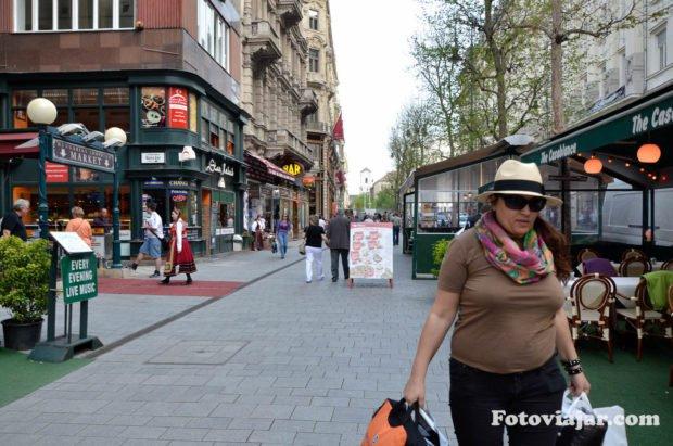 compras rua principal budapeste vaci utca