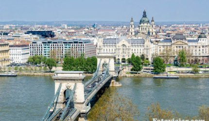 ponte danubio budapeste Szechenyi Lanchid