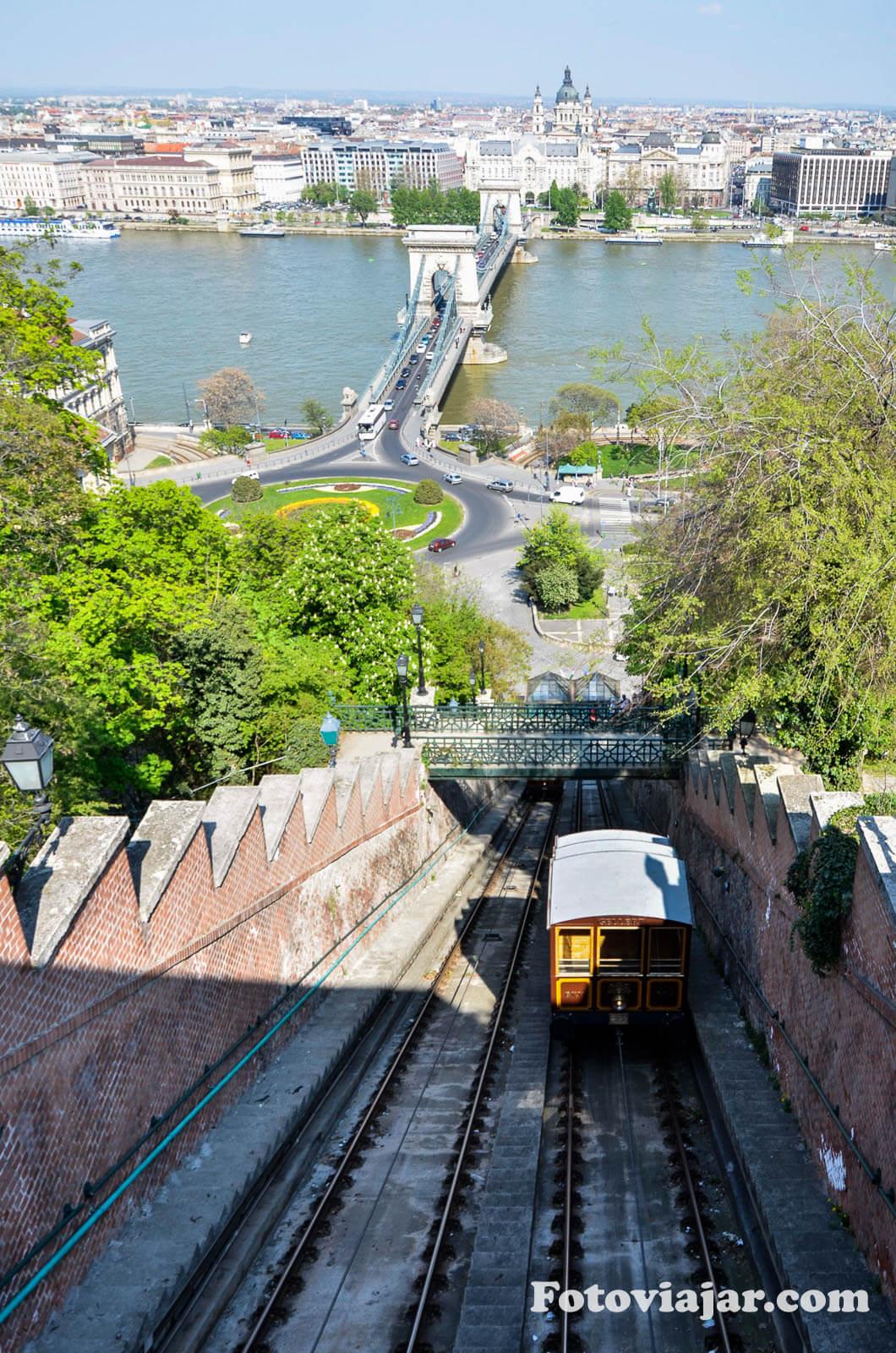 visitar budapeste funicular colina castelo
