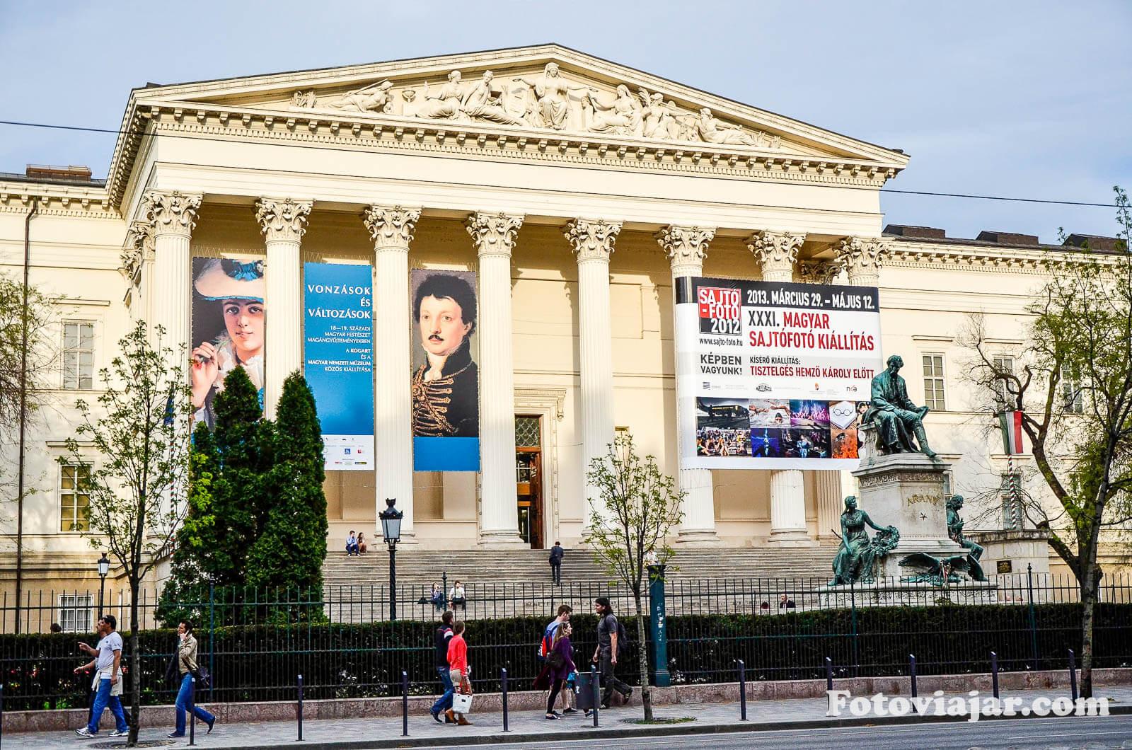visitar budapeste museu nacional hungaro