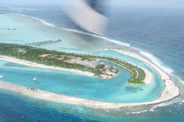 atividades maldivas hidroavião