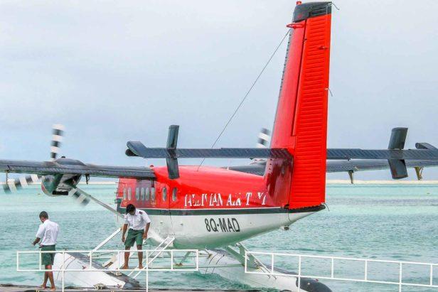 hidroavião maldivas atividades