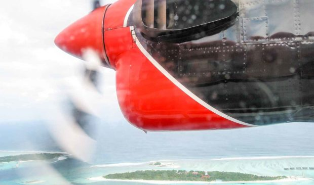 motor hidroavião maldivas