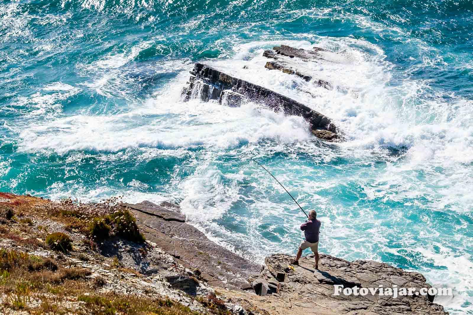 pesca Alentejo concelho Odemira