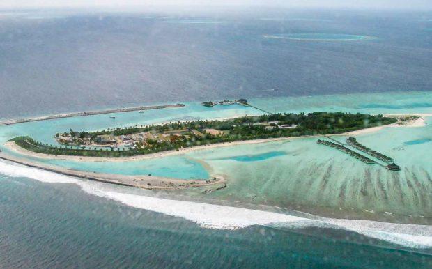 voar de hidroavião nas maldivas
