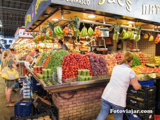 mercado barcelona boqueria