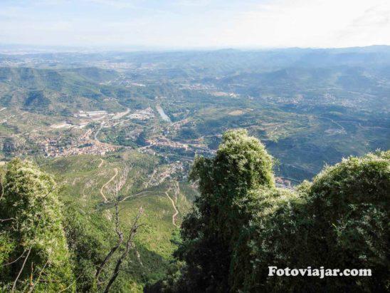 Vista Mosteiro Montserrat