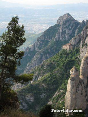 Montanhas rochosas Montserrat