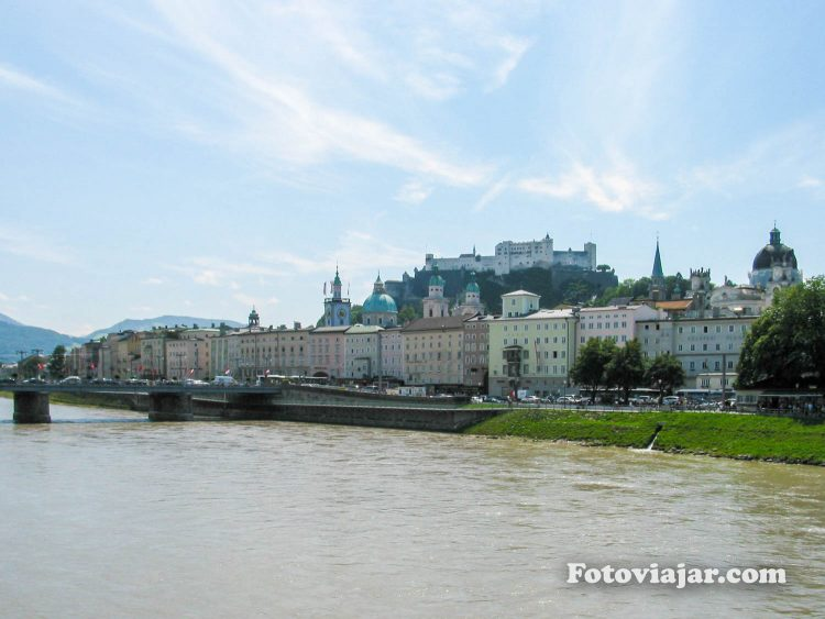 Rio Salzach Salzburgo