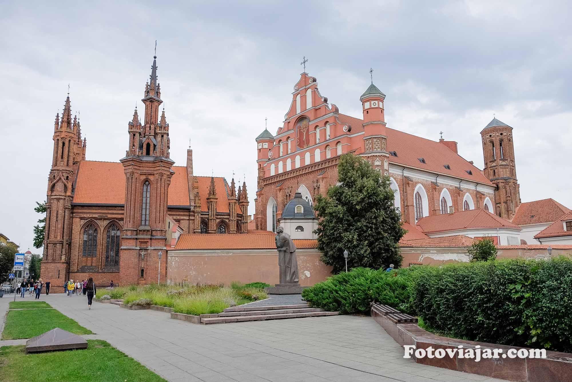 igreja santa ana vilnius