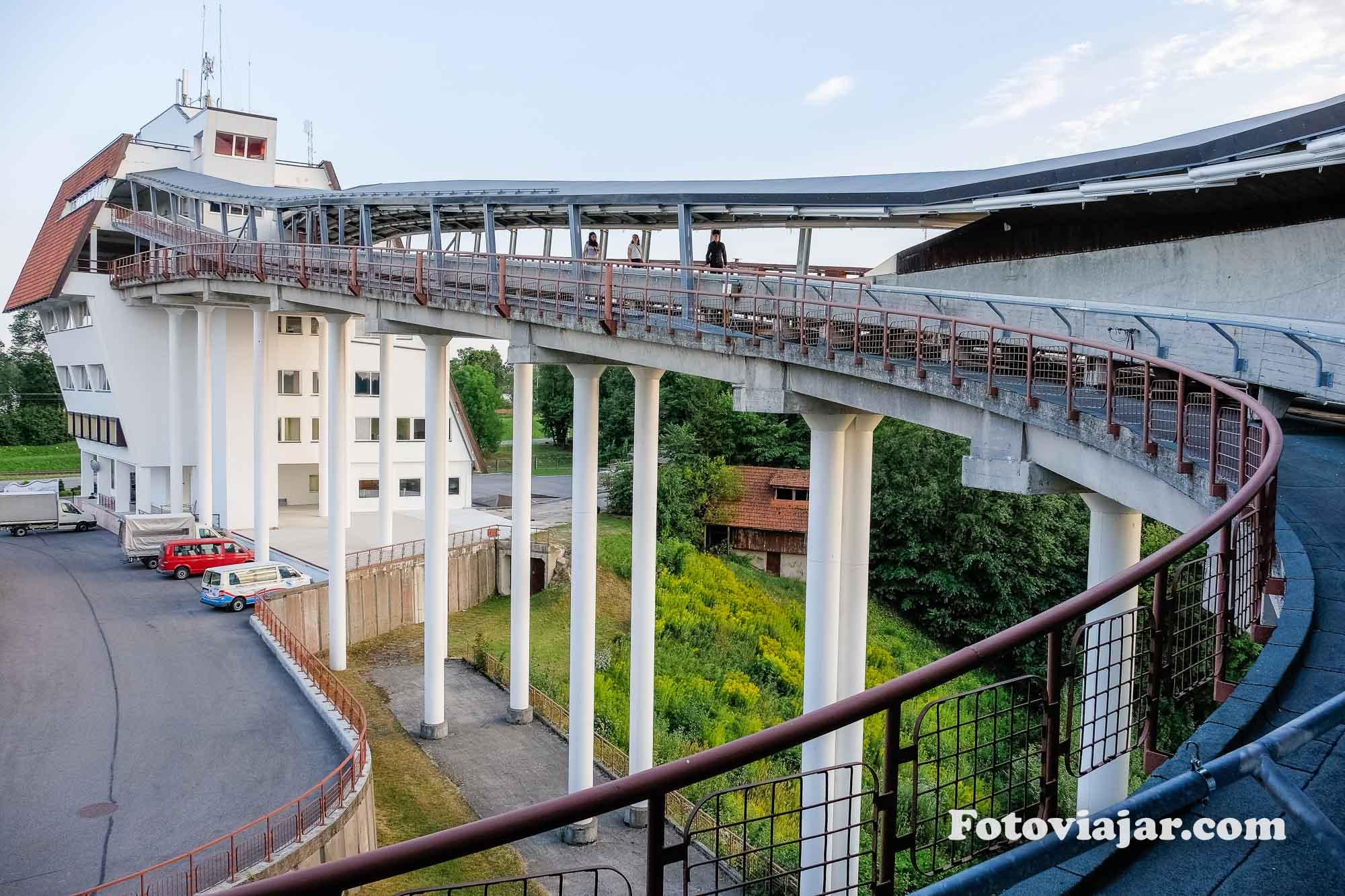 viagem letonia bobsleigh